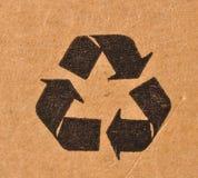 Reciclaje de símbolo Imagen de archivo