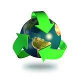 Reciclaje de símbolo stock de ilustración