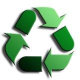 Reciclaje de símbolo Imagenes de archivo