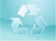 Reciclaje de símbolo del eco Fotografía de archivo libre de regalías
