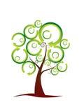 Reciclaje del árbol Imagenes de archivo