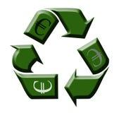Reciclaje del dinero Foto de archivo