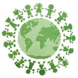 Reciclaje del emblema Imágenes de archivo libres de regalías
