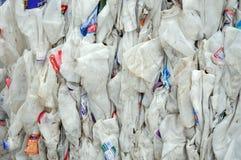 Reciclaje del plástico fotografía de archivo libre de regalías