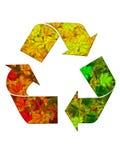 Reciclaje del símbolo 1 Imagen de archivo libre de regalías