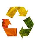 Reciclaje del símbolo 2 imagen de archivo libre de regalías