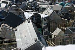 Reciclaje obsoleto de la PC imagen de archivo