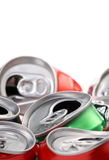 Reciclaje para las latas Imagen de archivo