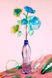 Reciclaje plástico Imágenes de archivo libres de regalías