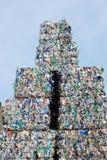 Reciclaje plástico Foto de archivo