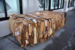 Reciclaje urbano Imagen de archivo libre de regalías
