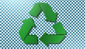Reciclando cante, ilustração Fotografia de Stock Royalty Free
