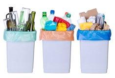 Reciclando desperdícios Imagem de Stock