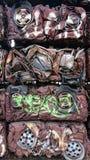 Reciclando metais crus fotos de stock royalty free