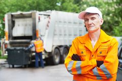 Reciclando o desperdício e o lixo Imagem de Stock
