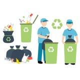 Reciclando o lixo Imagem de Stock Royalty Free