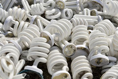 Reciclando, proteja el ambiente, tratamiento de la basura electrónica Imagen de archivo libre de regalías