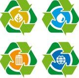 Reciclar 01 (vetor) Imagem de Stock