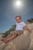 Recicle al bebé Fotos de archivo