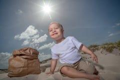 Recicle al bebé Imagenes de archivo