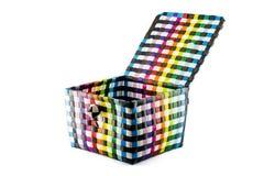 Recicle a cesta de weave Fotografia de Stock