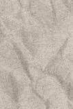 Recicle de papel de la textura arrugada blanca del Grunge del grano grueso Foto de archivo
