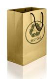 Recicle el bolso de compras Foto de archivo libre de regalías