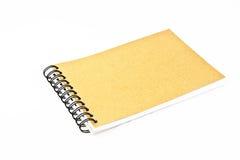 Recicle el cuaderno de papel Fotografía de archivo