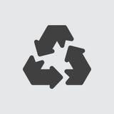 Recicle el ejemplo del icono Fotos de archivo libres de regalías