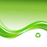 Recicle el fondo Imagen de archivo libre de regalías