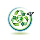 Recicle el icono Foto de archivo libre de regalías