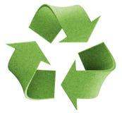 Recicle el logotipo Fotografía de archivo
