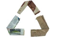 Recicle el logotipo foto de archivo libre de regalías
