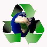 Recicle el mundo ilustración del vector