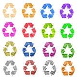 Recicle el papel Imagenes de archivo