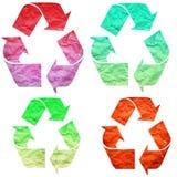 Recicle el papel Imágenes de archivo libres de regalías
