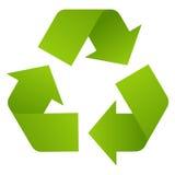 Recicle el símbolo Fotografía de archivo