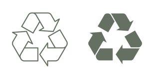Recicle el símbolo Fotos de archivo