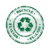Recicle el sello Fotografía de archivo libre de regalías