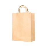 Recicle la bolsa de papel Imagen de archivo libre de regalías