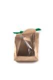 Recicle la bolsa de papel marrón Fotos de archivo