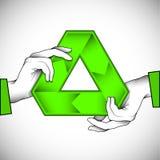 Recicle la ilustración del símbolo libre illustration