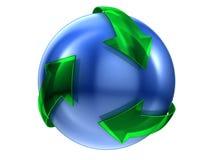 Recicle la muestra Imagen de archivo libre de regalías