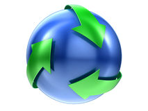 Recicle la muestra Foto de archivo