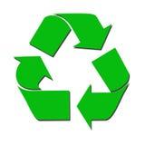 Recicle la muestra Foto de archivo libre de regalías
