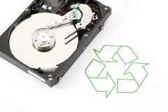 Recicle la tecnología Foto de archivo libre de regalías