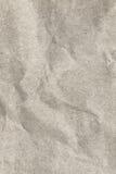 Recicle la textura arrugada beige de papel del Grunge del grano grueso Imagen de archivo libre de regalías