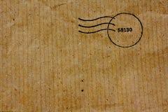 Recicle la textura marrón del bolso Foto de archivo