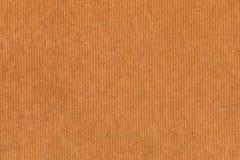 Recicle la textura rayada del Grunge del papel de Kraft Brown Foto de archivo