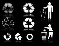 Recicle las muestras stock de ilustración